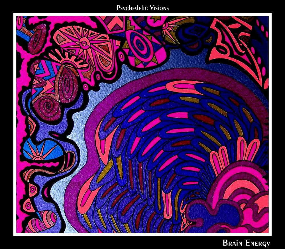 Brain Energy Black Ligth by MonicaDias