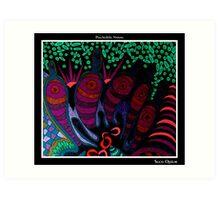 Suco Opium Black Ligth Art Print