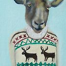 sheep sweater by KingVitaman