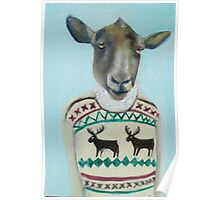 sheep sweater Poster