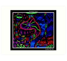 Under The Sea Black Ligth Art Print