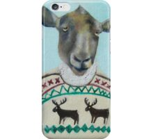 sheep sweater iPhone Case/Skin