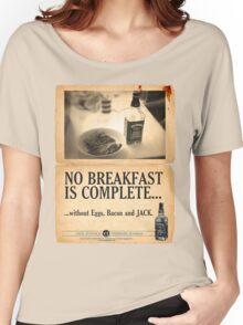 A Jack Daniel's Breakfast Women's Relaxed Fit T-Shirt
