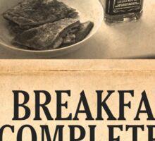 A Jack Daniel's Breakfast Sticker
