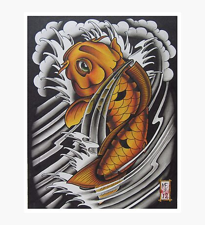 Koi Fish Photographic Print