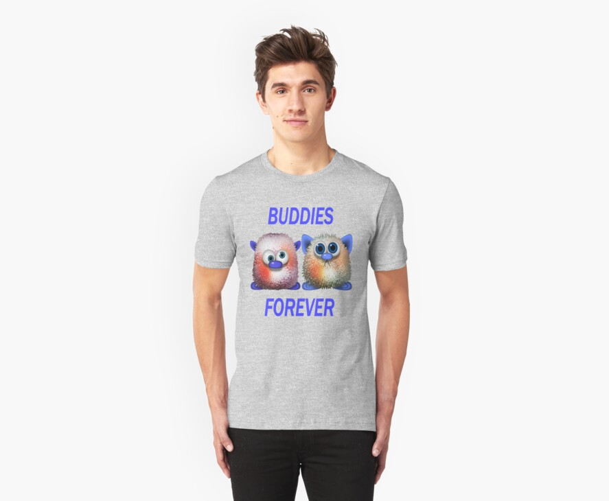 Buddies Forever .. Tee Shirt by LoneAngel