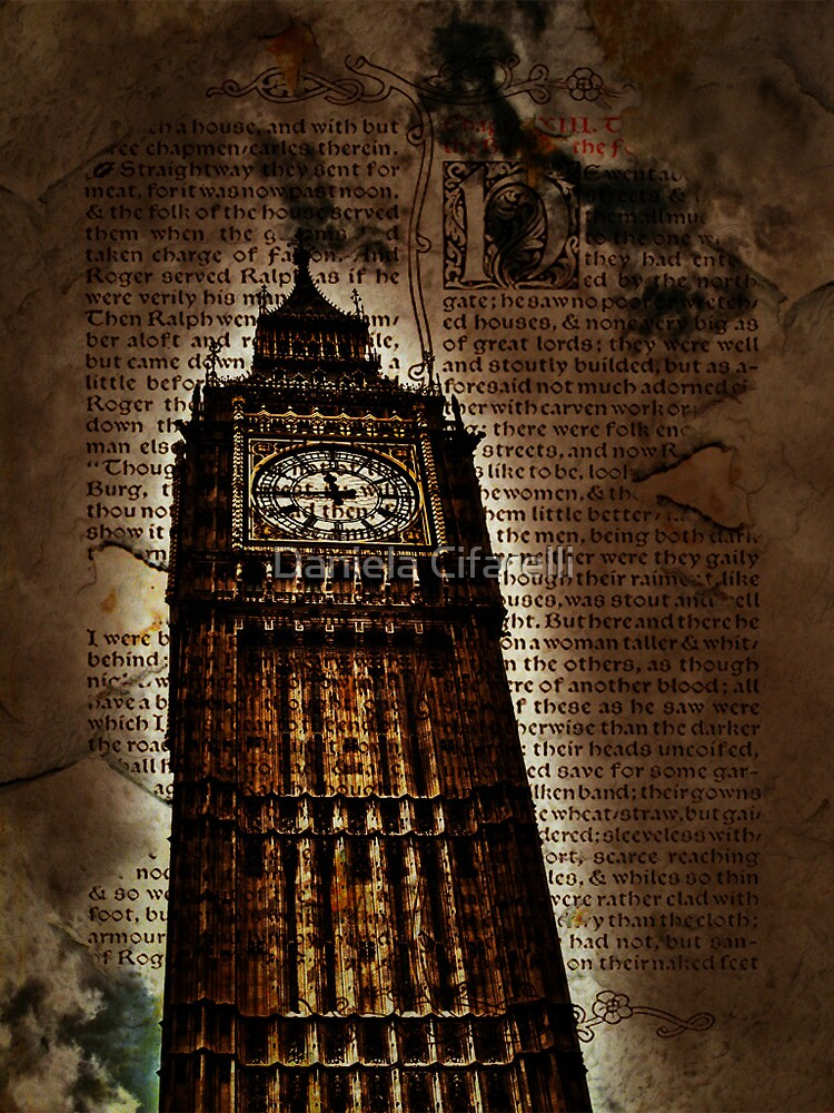 The Big Ben with a Middle Ages touch by Daniela Cifarelli