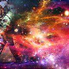 Walking Spaceman by jordanlee2929
