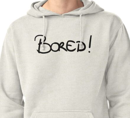 bored Pullover Hoodie