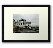 Lyme Through The Windscreen   Dorset UK Framed Print