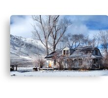 Move in Ready Not Canvas Print
