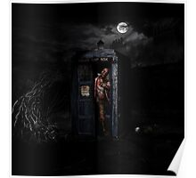 TARDIS ZOMBIE Poster