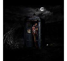 TARDIS ZOMBIE Photographic Print