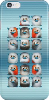Fuzzy Balls of Fun .. iphone case by LoneAngel