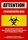 Attention Biohazard by SixPixeldesign