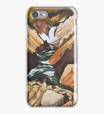 """102. """"The Shadows of Yellowstone National Park.""""  iPhone Case/Skin"""