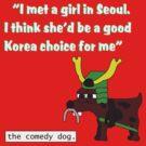 Korea choice for me [White writing] by Smowens