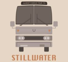 Almost Famous Stillwater Tour Bus by Alex Kittle