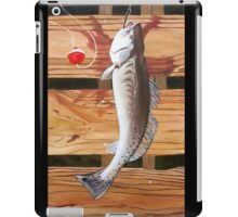 "96. ""Chris' Trout from Baffin Bay, Texas."" iPad Case/Skin"