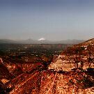 Volcano Cotopaxi at dusk 2 by borjoz