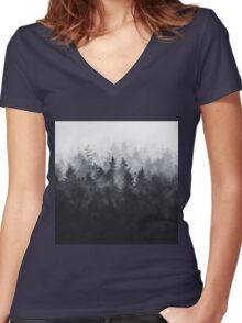 The Heart Of My Heart // Midwinter Edit Women's Fitted V-Neck T-Shirt