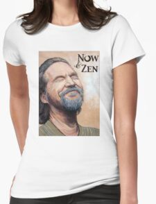The Dude Now & Zen Womens Fitted T-Shirt