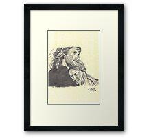Faramir & Eowyn Framed Print