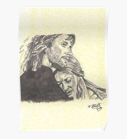 Faramir & Eowyn Poster