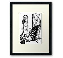 062 Framed Print