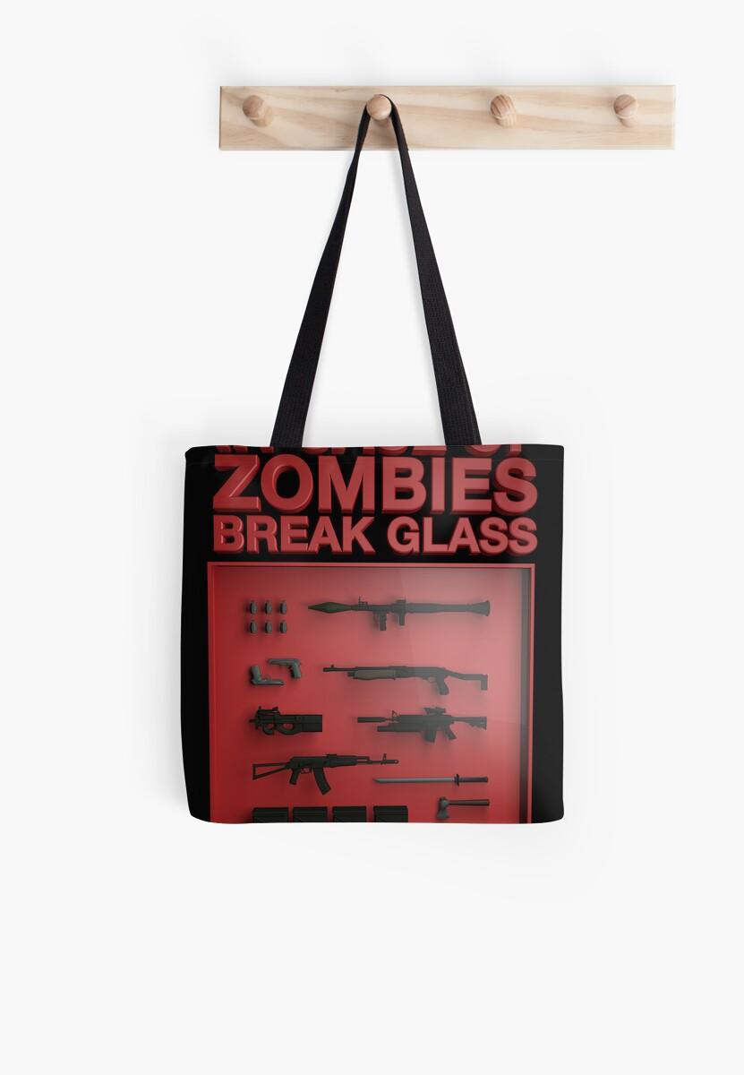 In Case of Zombies Break Glass  by tombst0ne