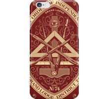 Style,illuminati , franc maçon iPhone Case/Skin