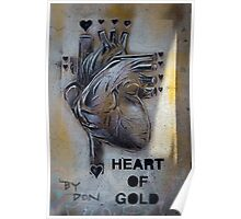 Heart of Gold by Don Poster