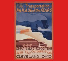 Vintage poster - Great Lakes Exposition Kids Clothes