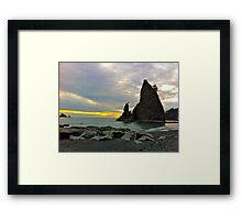 Sea Stack Framed Print