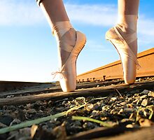 Railroad Ballet by Bernard Mesa