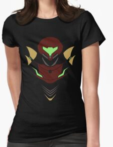 Samus Aran Womens Fitted T-Shirt