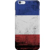 Flag of the War iPhone Case/Skin