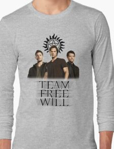Supernatural: Team Free Will Long Sleeve T-Shirt