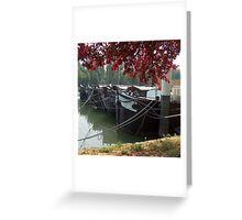 Seine River, France Greeting Card
