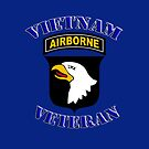101st Airborne Vietnam Veteran -  iPad Case by Buckwhite
