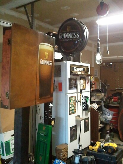 "The O'Neill  Guinness Kegerator at O'Neill's Pub, Hatfield, PA by Edmond J. [""Skip""] O'Neill"