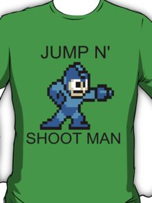 Jump N Shoot Man T-Shirt