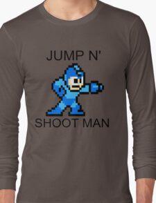 Jump N Shoot Man Long Sleeve T-Shirt