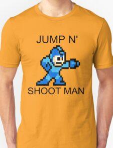 Jump N Shoot Man Unisex T-Shirt