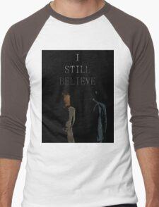 I Still Believe Men's Baseball ¾ T-Shirt