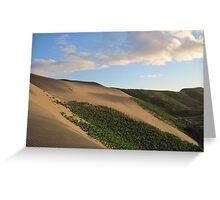 Sand Dunes National Park, Fiji Greeting Card