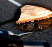 Motorcycle Rearview by foremanphotos