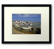 Bridlington Harbour Scene Framed Print