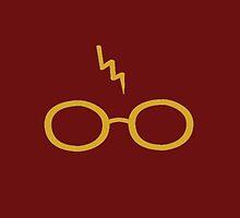 Gryffindor Glasses by LettuceLeaf