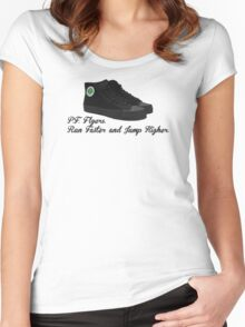 P.F. Flyers.  Sandlot Kids! Women's Fitted Scoop T-Shirt